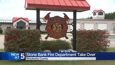 Stone Bank Fire Department to close after more than 100 years