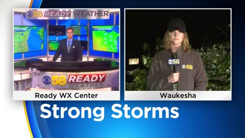 Thursday Storm causes significant damage in Waukesha