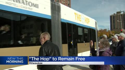 City of Milwaukee won't charge to ride the streetcar in November