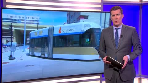 First streetcar test goes smoothly
