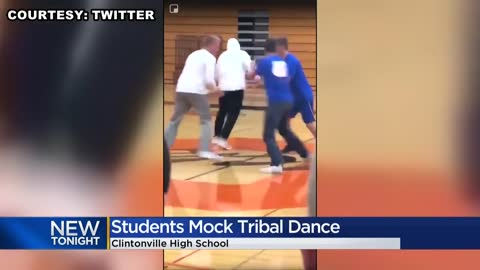 Wisconsin high school cancels homecoming events after video shows students mocking Native American dance