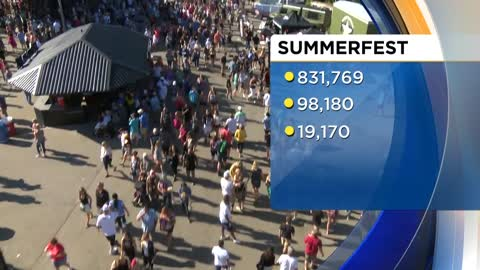 831,769 attend Summerfest 50