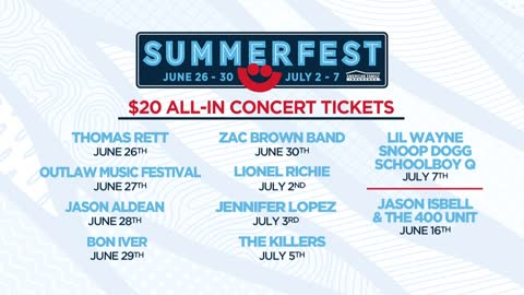 Summerfest offering $20 All-In tickets for some Summerfest headliner shows