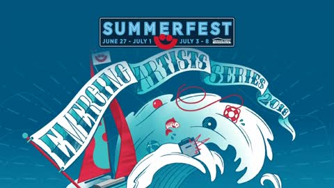Line-up for Emerging Artists Series at Summerfest released