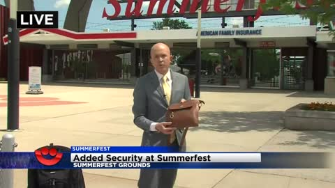 New security policy in effect for Summerfest 2018