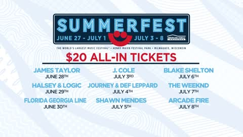 "UPDATE: Summerfest $20 ""All-In"" ticket promotion sold out"