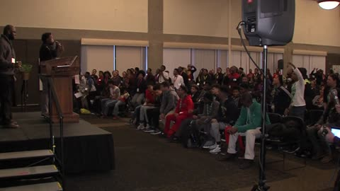 Hundreds turn out for 5th annual Summit on Black Male Youth