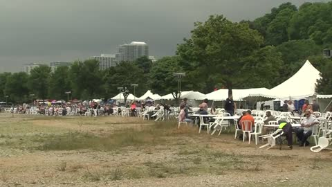 Milwaukee Air and Water Show has a disappointing rainy and windy weekend