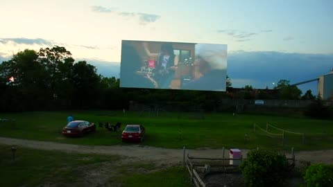 "Iconic ""Highway 18 Outdoor Theatre"" lets you watch a movie from your car"