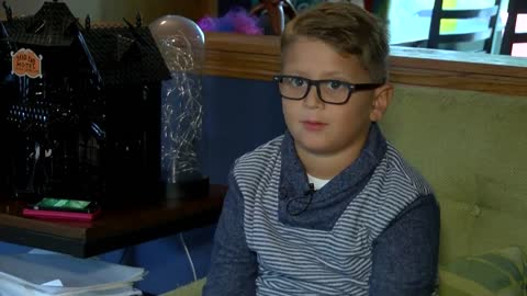 Local boy battling cancer gets his own book