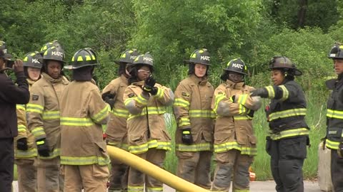 Girl Scouts get real world firefighter training with CampHERO