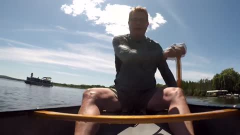 Record-setting canoeist and motivational speaker shares lessons from Lake Michigan