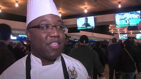 Behind the scenes at Fiserv Forum with Executive Chef Kenneth Hardiman