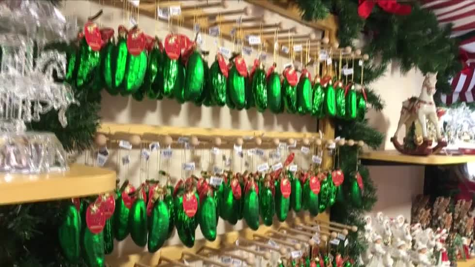 Christmas Pickle Tradition.A Curious Christmas Tradition The Christmas Pickle