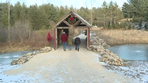 Sunday Morning Spotlight: The Covered Bridge at Christmas on Indian Lore