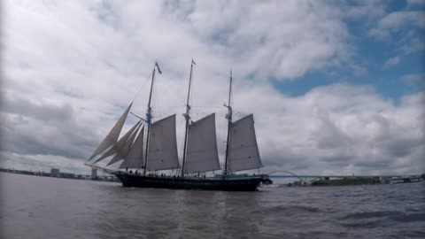 Voyage aboard the Denis Sullivan