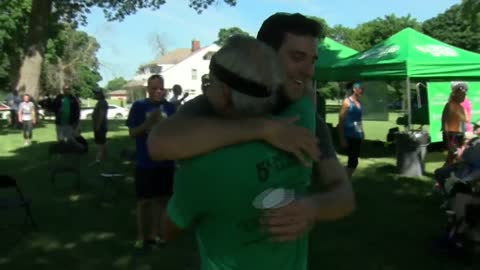 Wisconsin doctor raises awareness for mental health with 50 consecutive 5Ks in 50 states