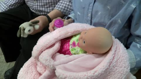 Therapy dolls make a difference for dementia patients