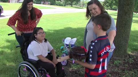New Berlin boy raises money to gift dolls for young children with limb differences