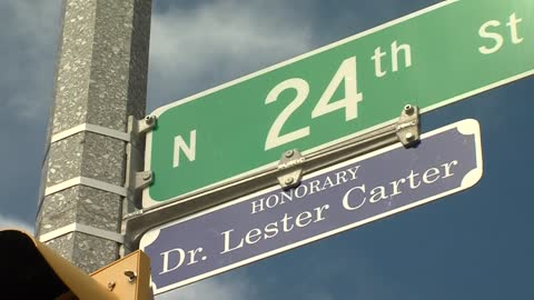 Dr Carter makes his mark on Milwaukee's Amani neighborhood