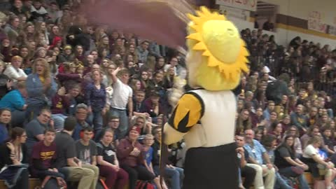 Homecoming rivalry between two West Bend high schools under one...