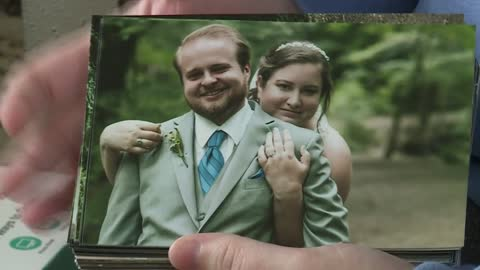 Local newlywed battling rare disease seeks holiday cheer