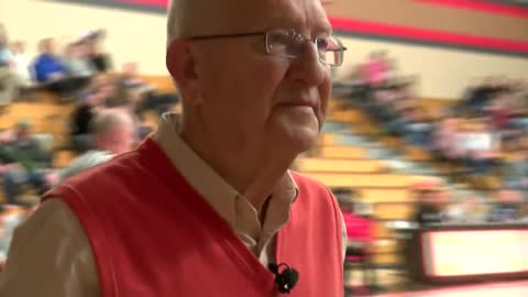 Burlington man recognized after half century of service to field house