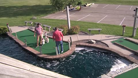 Local mini golf masters take their craft seriously