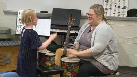 Alverno College music therapy program improving lives of children and adults