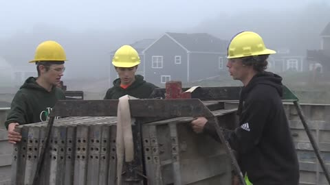 New Berlin students get unique hands-on learning experience at the job site