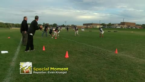 Special moment on New Berlin football field goes viral