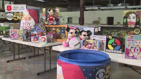 CBS 58, Steinhafels and Salvation Army Team Up for Toy Shop