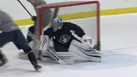 "Admirals goalie utilizes true ""home ice"" advantage"