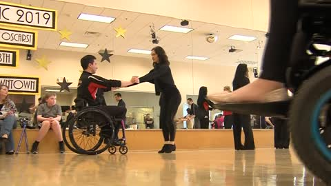 Wheelchair dancing champion comes to Brookfield with message of inclusion for those who use wheelchairs