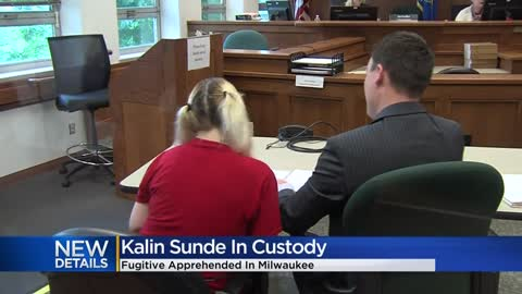 Bail set at $250,000 for Kalin Sunde