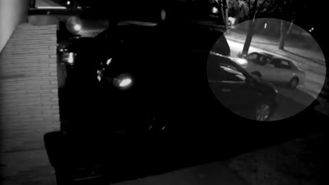 Surveillance camera catches suspects trying to break into cars, police warn to keep vehicles locked
