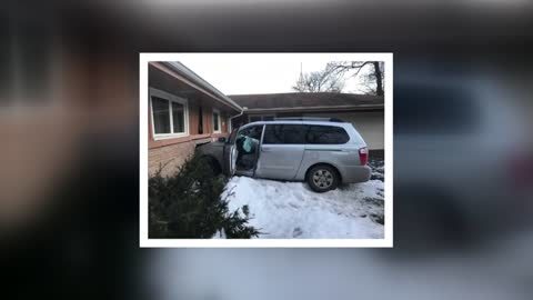 Suspects flee after crashing into a home, leave behind marijuana