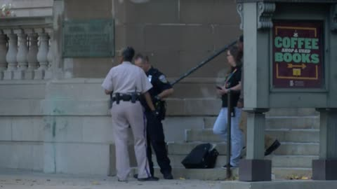 Nothing unusual found after suspicious package left outside Milwaukee library