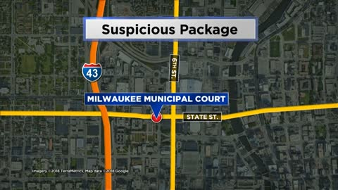 UPDATE: No threat from suspicious package in Milwaukee