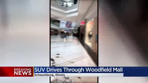 Suspect in custody after driving vehicle into Schaumburg's...