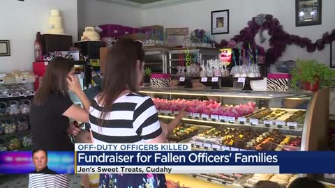 Jen's Sweet Treats holds fundraiser for fallen officers'...