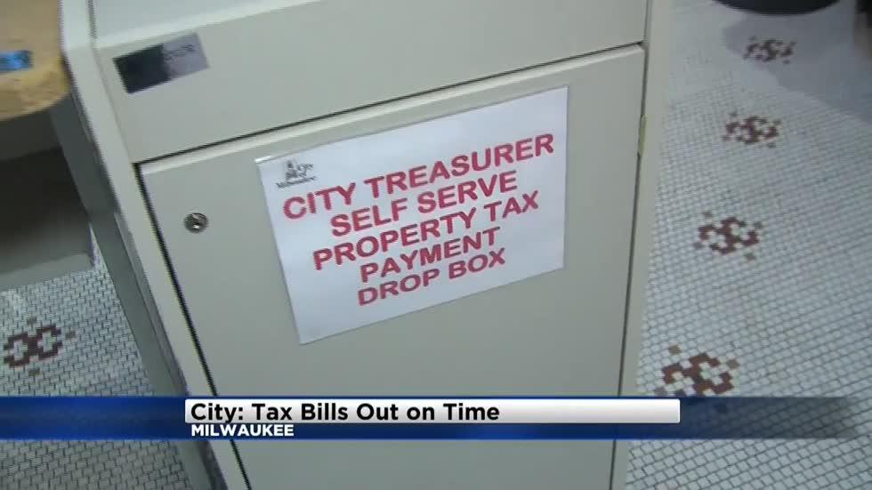City Of Milwaukee Property Tax Bill