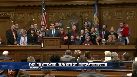 Wisconsin Assembly passes child tax credit and tax holiday
