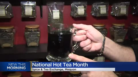 Forget the cup of Joe -- it's 'National Hot Tea Month'