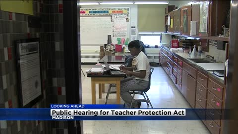 Details about the Teacher Protection Act proposed in Madison