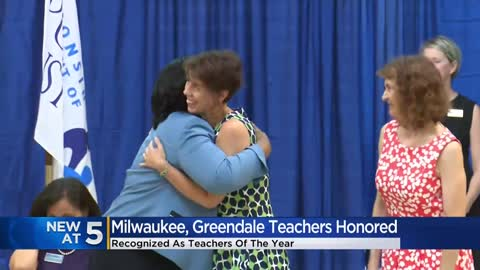 Two Milwaukee area educators recognized as Teachers of the Year