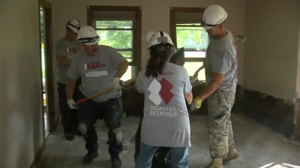 Disaster relief group Team Rubicon giving veterans a new purpose