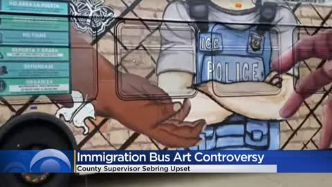 Teen artwork on a MCTS bus spotlights immigration, creates controversy