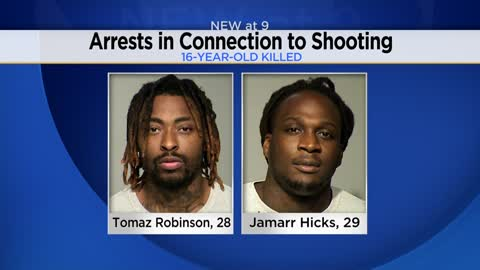 Arrests made following fatal shooting of 16-year-old Emani Robinson