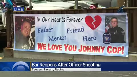 Teezers reopens after deadly officer shooting, bar honors officer